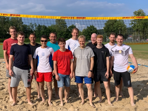 Beachvolleyball-Turnier der Judoka